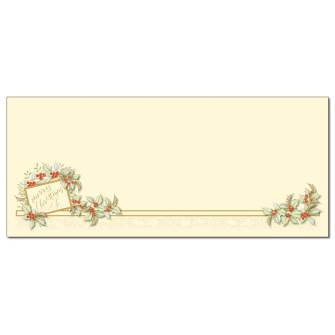 Vintage Christmas Envelopes - 25 Pack