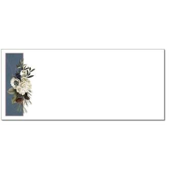 Winter Bouquet Envelopes - 25 Pack