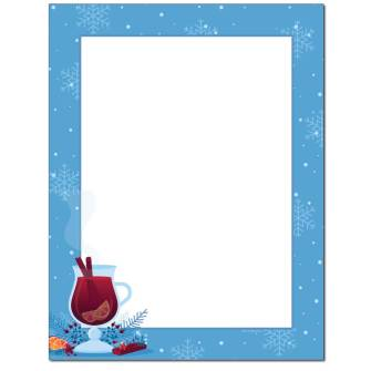 Warm Wishes Letterhead - 100 pack