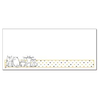 We Love Cats Envelopes - 25 Pack