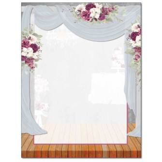 Wedding Canopy Letterhead - 25 pack