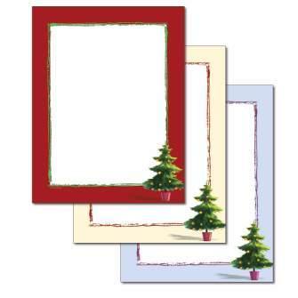 Whimsical Tree Letterhead - 25 pack