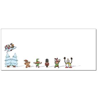 Winter Buddies Envelopes - 50 Pack