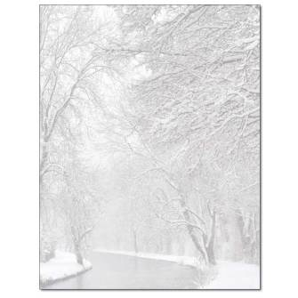 Winter Creek Letterhead - 25 pack