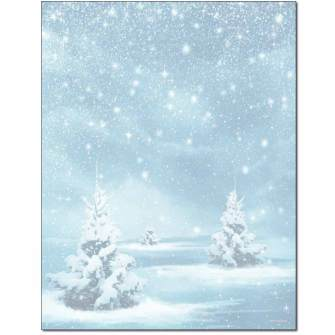 Winter Magic Letterhead - 25 pack