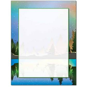 Winter Reflections Letterhead - 100 pack