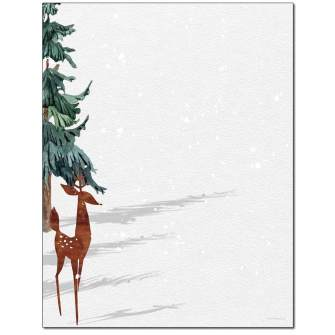 Winter Shadows Letterhead - 25 pack
