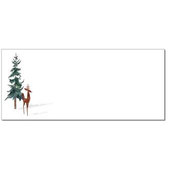 Winter Shadow Envelopes - 25 Pack