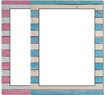 Wooden Stripes Letterhead - 25 pack