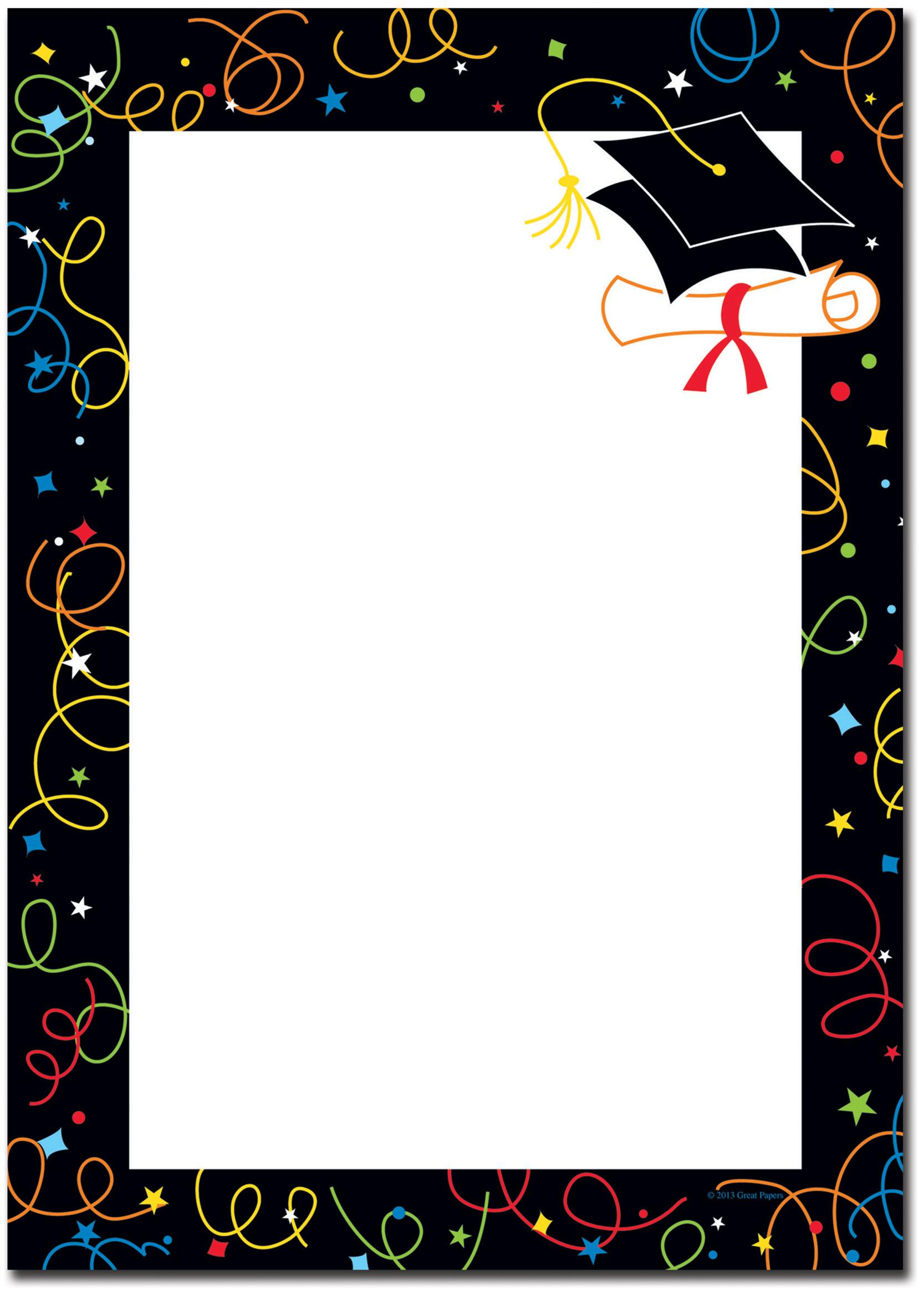 Grad Swirls Flat Card