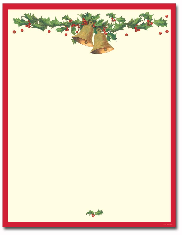 Antique-Bells-Holiday-Letterhead