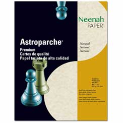 Natural Parchment Letterhead - 25 pack