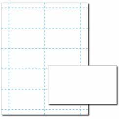 Blank Business Card, 65lb