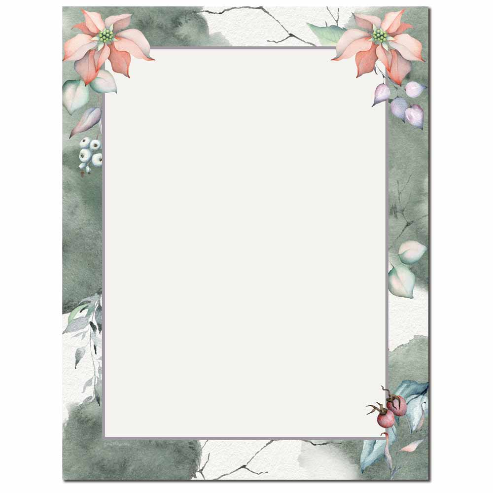 Gentle Winter Letterhead - 100 pack