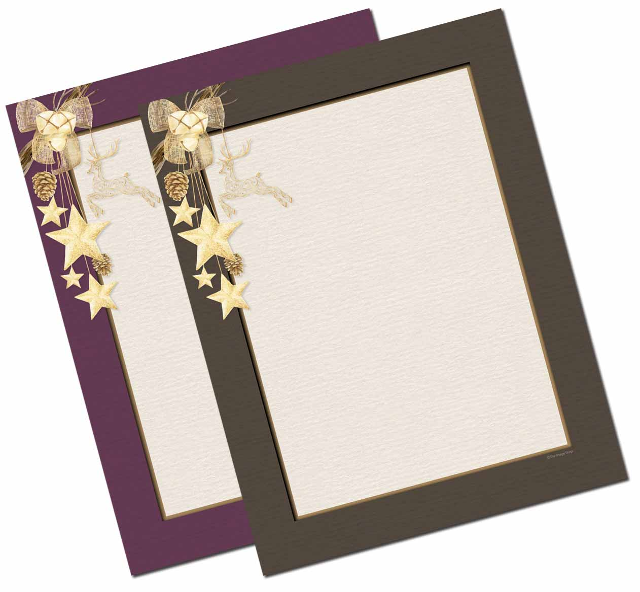 Country Charm Letterhead - 25 pack