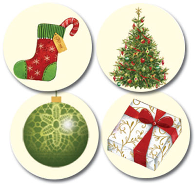 Lacy Ornaments Seals