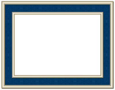 Navy Frame Certificate Certificates The Image Shop