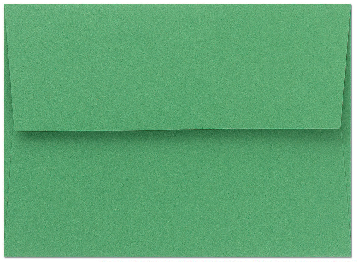 Bright Green A9 Envelopes