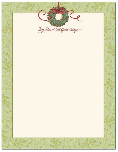 All Good Things Letterhead - 80 Pack