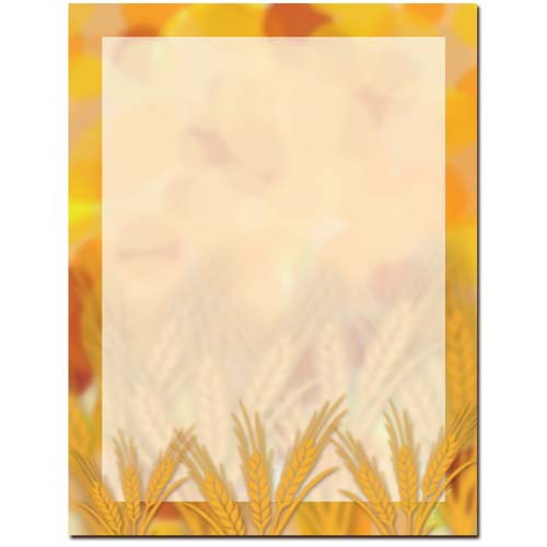 Amber-Waves-Fall-Autumn-Letterhead-Paper