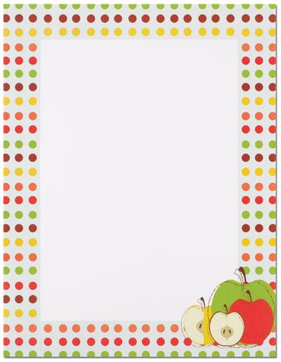 Apples Letterhead