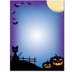 All Hallows' Eve Letterhead - 100 pack