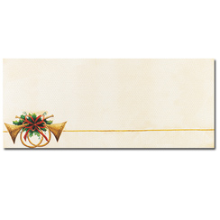Antique Horns Envelopes - 25 Pack