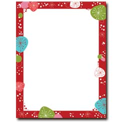 graphic relating to Free Printable Christmas Letterhead called Printable Xmas Stationery The Picture Retail outlet