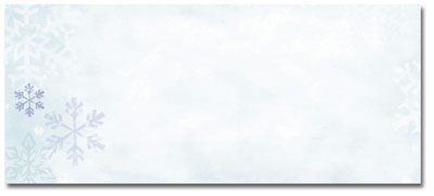 Blue Flakes Envelopes - 25 Pack