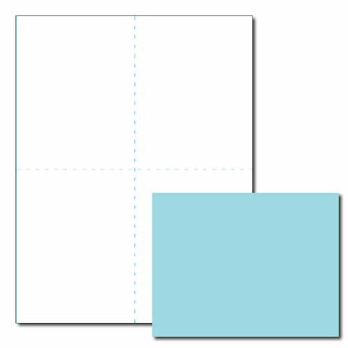 Blue Post Card