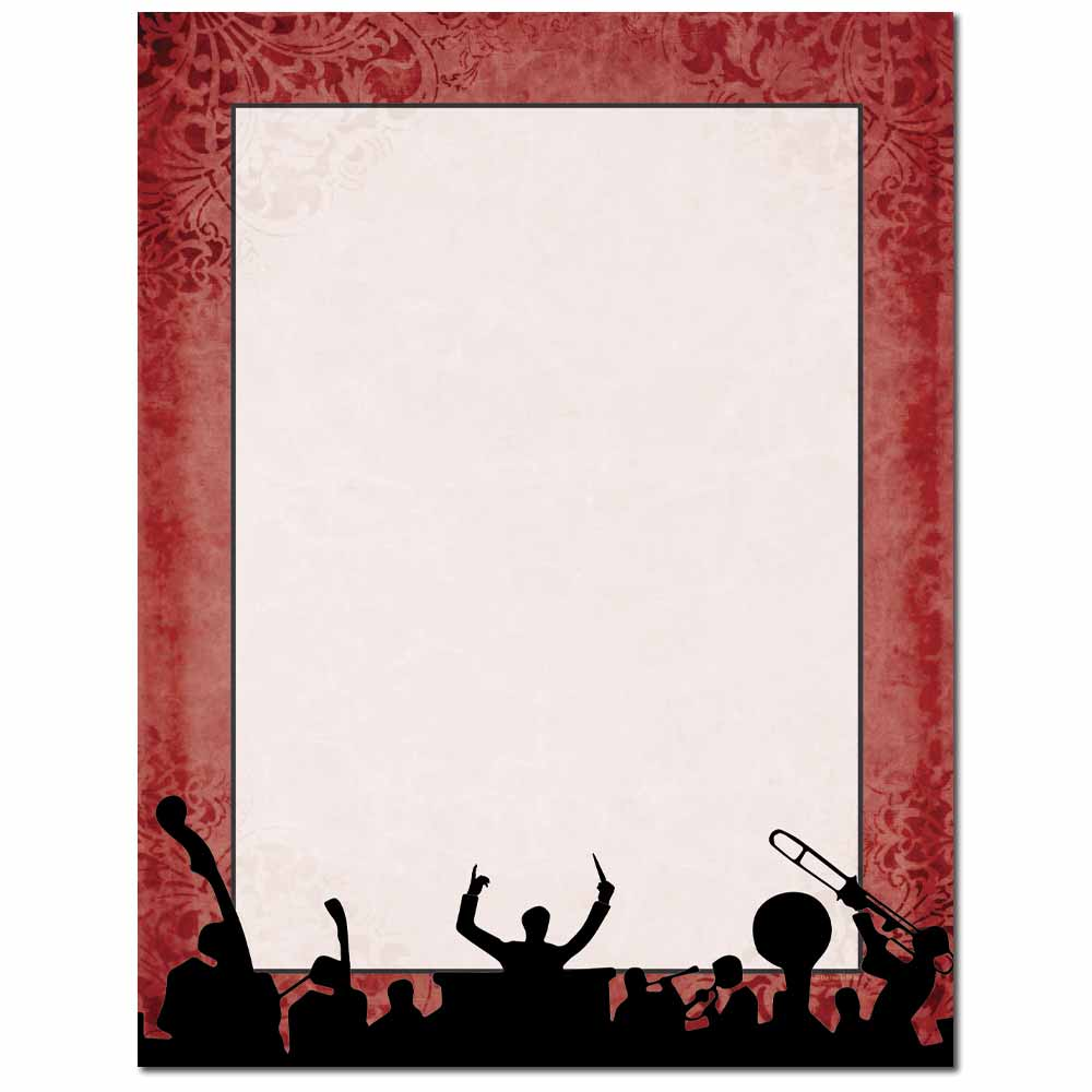 Big Band Letterhead