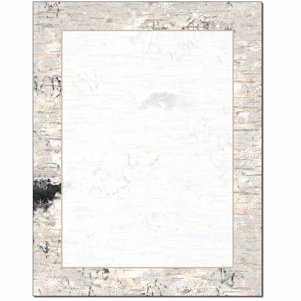 Birch Bark Letterhead - 25 pack