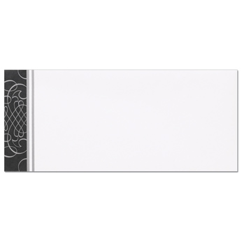 Black & Silver Scrolls Envelopes