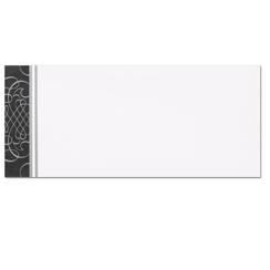 Black & Silver Scrolls Envelopes - 25 Pack