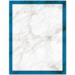 Blue Marble Letterhead - 25 pack