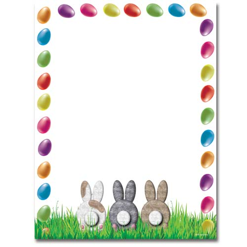 photograph relating to Easter Bunny Letterhead identify Bunny Butts Letterhead