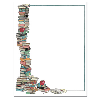 By The Books Letterhead