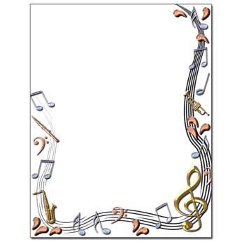 Classical Music Letterhead
