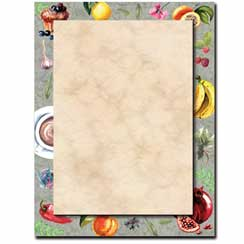 Cafe Menu Letterhead - 100 pack