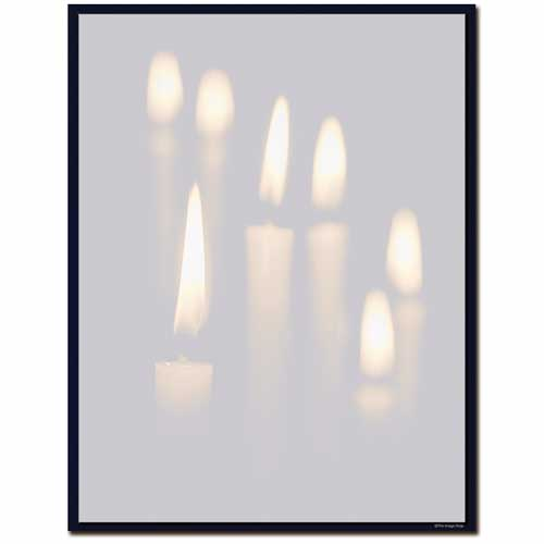 Candlelight-inspirational-holiday-Letterhead-Paper