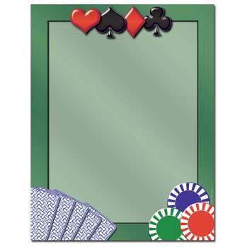 Card Games Letterhead