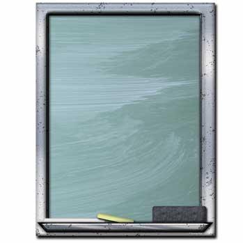 Chalkboard Letterhead