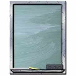 Chalkboard Letterhead - 25 pack