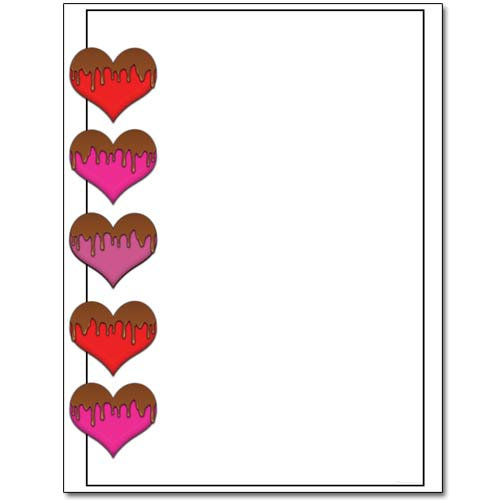 Chocolate-Hearts-Valentine-Stationery