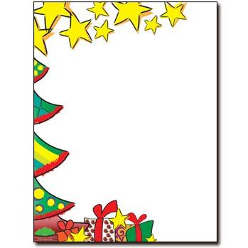 Christmas Morning Letterhead