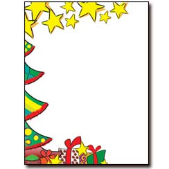 Christmas Morning Letterhead - 25 pack