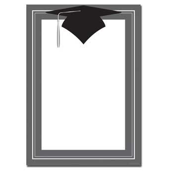 Class Hat Flat Card
