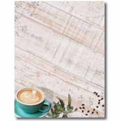 Coffee Time Letterhead - 100 pack