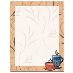 Coffee Break Letterhead - 25 pack