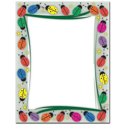 Colorful-Ladybugs-Letterhead-Paper